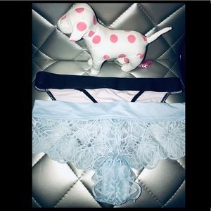 PINK Victoria's Secret 2 pairs of panties Free Dog